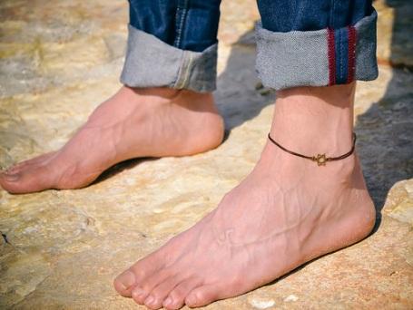 Star Chain Anklets for Men