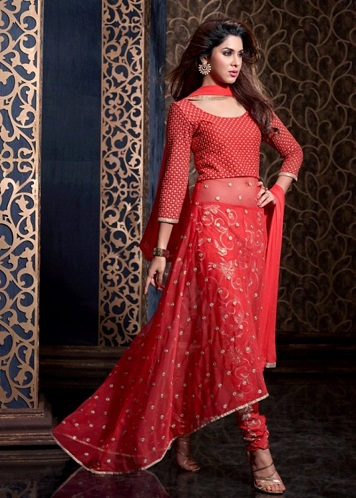 net salwar suit designs