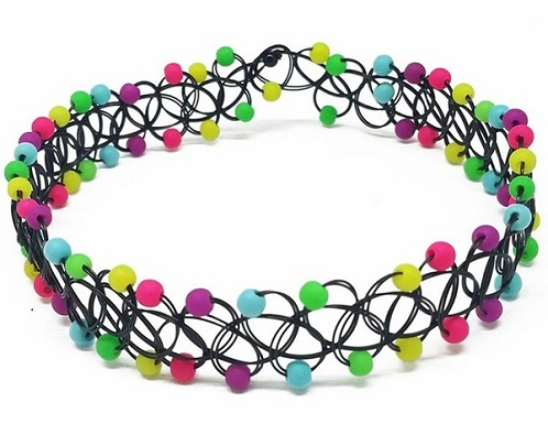 Stretch choker for girls