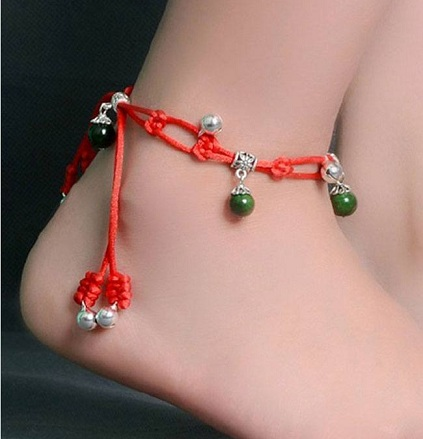 String Anklets for Women