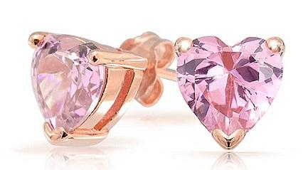 Studs Pink Earring