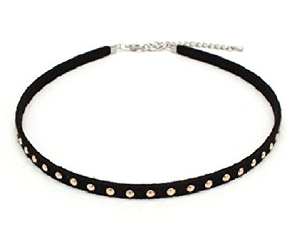 Suede choker for girls