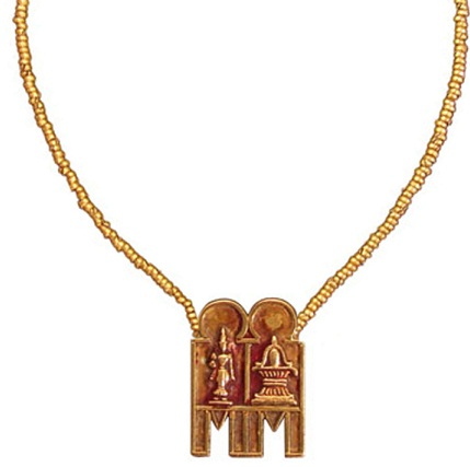 Tamil Mangalsutra with God & Goddess image