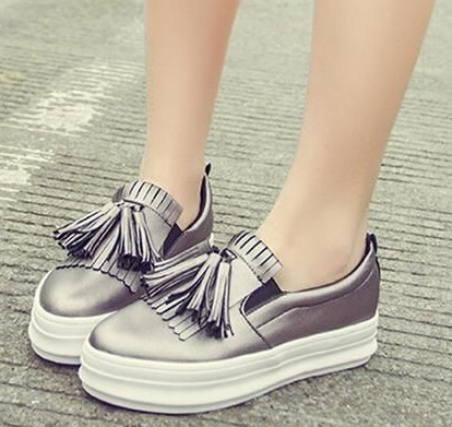 Tassel loafers for women