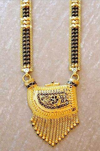 Telugu Traditional Mangalsutra design