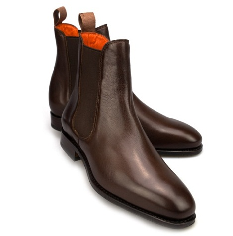 The Chelsea womenboots The dark brown chelsea boots
