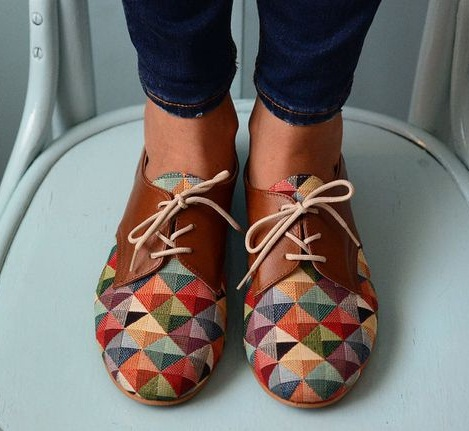 The Printed Multi-coloured Women Shoes