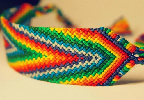 The Rainbow Bracelet