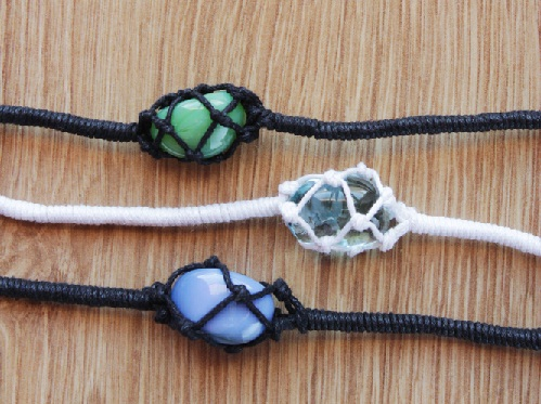 The Stone Netted Bracelet