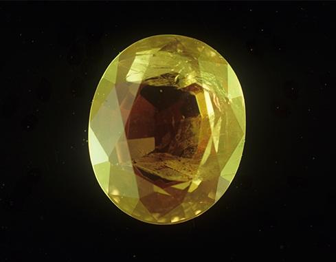 The alexandrite gemstone