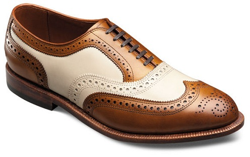 The dually designed and coloured men shoes