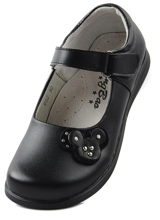 The fashionable girls school shoes