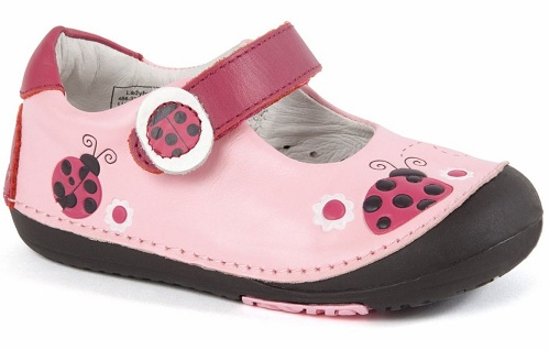 The girly pink shoes