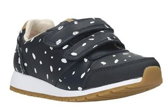 The lady shoes with the polka dots