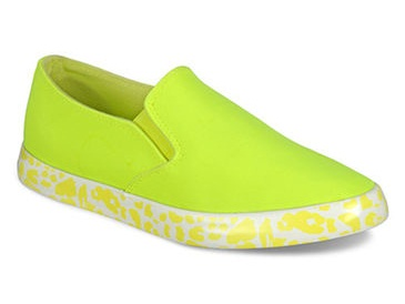 The parrot green womenshoes