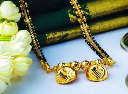 The Shell Charm Maharashtrian Mangalsutra