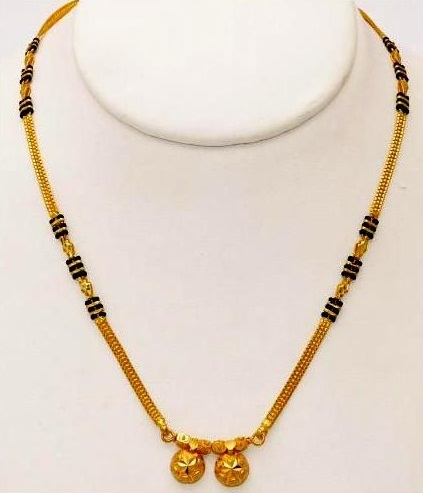 Three String Maharashtrian Mangalsutra