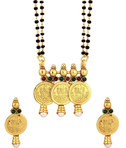 Three coin mangalsutra