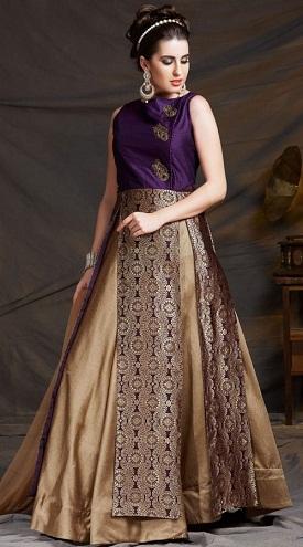 Three cut Salwar Kameez Skirt