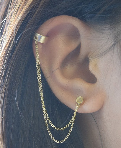 15 Stylish Designs of Small Earrings for Girls in Trend ...
