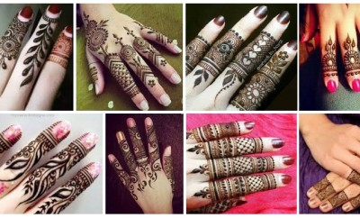 Top 15 Stylish Finger Mehandi Designs with Images