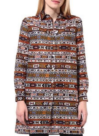 Traditional Women's casual kurta cum shirt