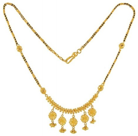 Traditional fancy mangalsutra
