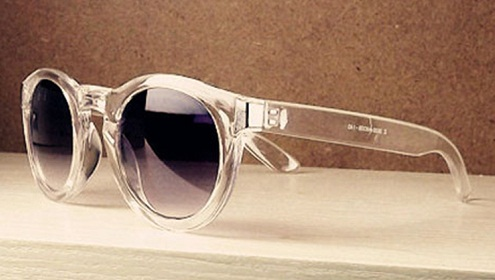 Transparent Frame Mens Sunglass -11
