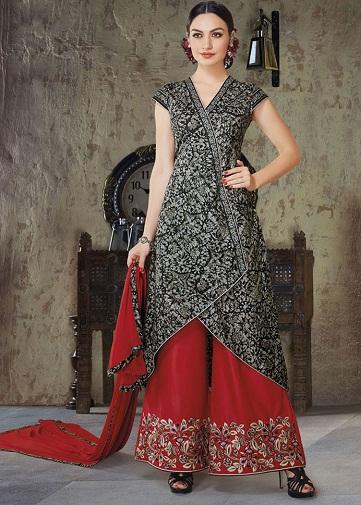 Trendy Palazzo Salwar Suit