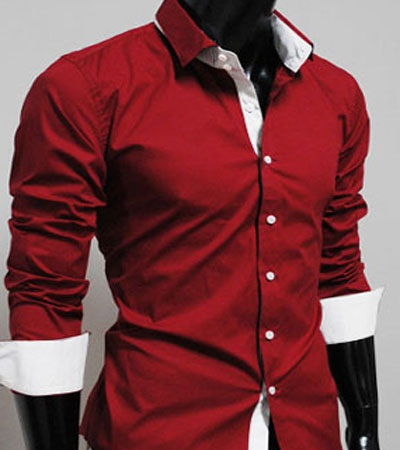 Trendy Red Shirt