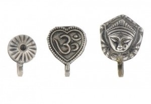 Tribal Clip on Nose Pin