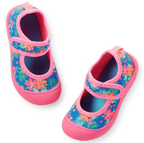 Tropical water kids shoes