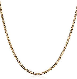 Twisted Gold-Sterling Silver Necklace