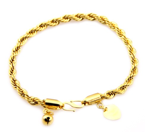 Twisted Rope Leg Anklet for Men