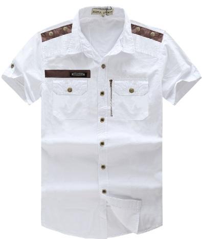 Two pocket white shirt