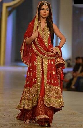Unstitched Bridal Salwar Suit1