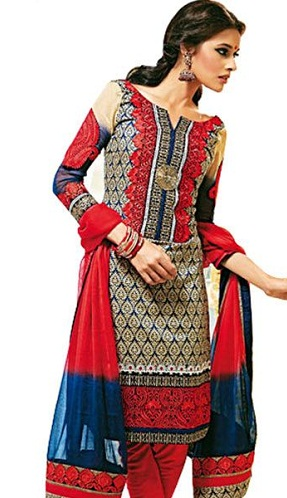 Unstitched PrintedSalwar Suit
