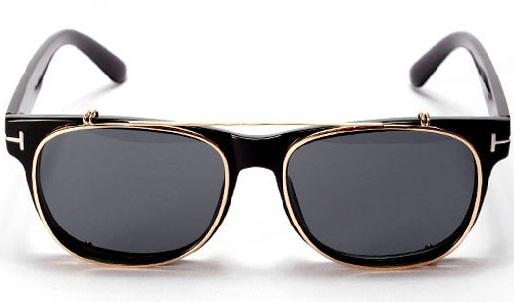 Vintage Reflective Mirrored Flip up Sunglasses