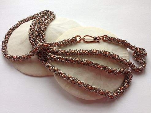 Vintage byzantine chain