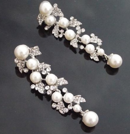 Vintage drop earring