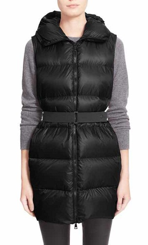 Water resistant female outdoor long Vest