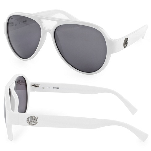 White Frame Mens Sunglass -19