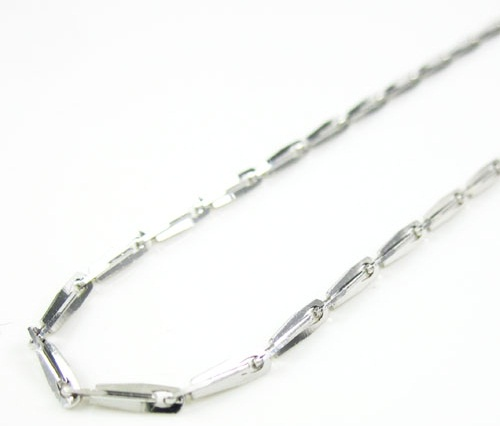White Gold Fancy Chain