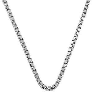 White Gold Venetian Link Chain