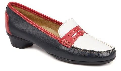 Wide fit Moccasins for women