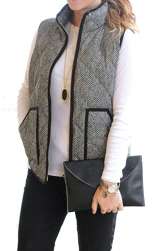 Women's Regular wear grey Vest