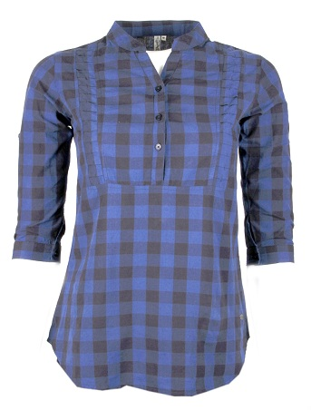 Women's Top Casual Checked shirt