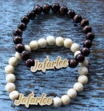 Wooden Bead Custom Bracelet