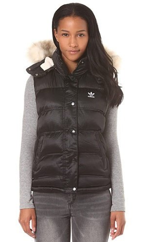 Woolen Vest with Hoodie for Women