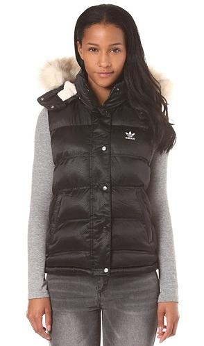 Woolen Vest with Hoodie for Women
